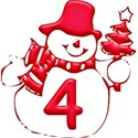 JAM-ChristmasJoy-Alpha4-Red-num-4