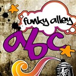 Funky alley ABC