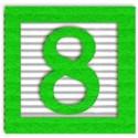 green_alpha_num_8