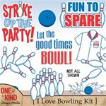 I Love Bowling Kit