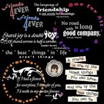{Wordart} All About Friendship!