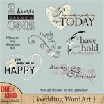 Wedding WordArt