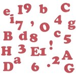 Red Line Alphabets