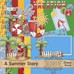 A Summer Story~Now With 7x5 Brag Book Pages !