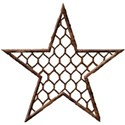 cropped star wire