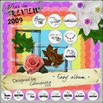 Carmensita Kit - Easy album (16 quick pages!)