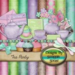 Tea Party MEGA Kit with Alpha