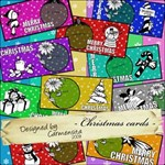Carmensita kit - Christmas CARDS